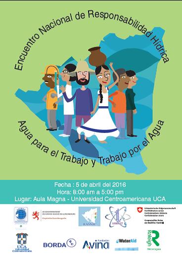 """""""Agua para el trabajo y trabajo por el Agua""""    Nicaragua 2016"""