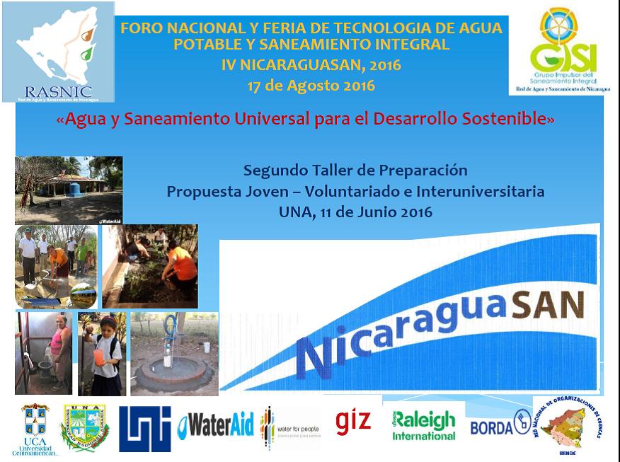 Preparativos NICARAGUASAN 2016 17 de Agosto 2016